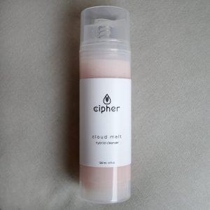 cipher cloud melt hybrid cleanser balm gel